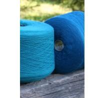 Шерсть мериноса, цвет Голубой (1 кг)