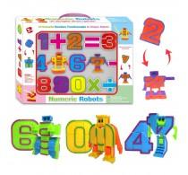 """Набор цифры-трансформеры """"Numeric Robots"""""""